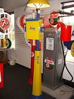 CLASSIC 1930S 1940S 1950S SUNOCO GAS PUMP STATION ISLAND LIGHT WITH TOWEL BOX