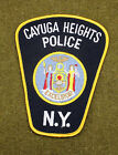 29281) Patch Cayuga Heights New York Police Department Insignia Sheriff