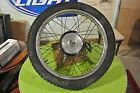 1974 Yamaha OEM DT 125 Front wheel  with brake hub   DT125 AT175