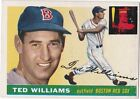 1955 Topps Ted Williams Boston Red Sox #2 Baseball Card, VG Condition