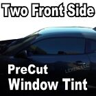 TWO FRONT PRECUT WINDOW TINT KIT COMPUTER CUT TINTING GLASS FILM CAR ANY SHADE d