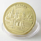 Russian Cities KAZA Gold Colour Coin