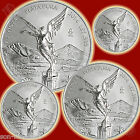 2014 Mexican Libertad 4 Coin Set .999 Silver BU Fractional Bullion HARD TO FIND