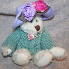 Boyds 1990-1994 Teddy Bear Jointed Bendable arms legs Archive  #1364 Sweater Hat