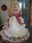 Duck House Heirloom Victorian Porcelain Doll 30 In. Timeless Treasure to Cherish