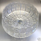 Hand Cut Over 24% Lead Queen Lace Czech Bohemia Crystal Fruit Bowl Made Poland