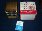 Vintage RARE ARRCO Playing Card Shuffler all GOLD