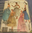 Vintage MCCALL'S DRESS OR GOWN & STOLE IN FIVE STYLES PATTERN 2800 SIZE 6-8-10