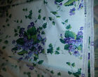 NEW Vintage Waverly Fabric 7 Yards Waverly Sweet Violets Home  Fabric Cotton