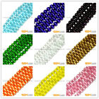 Assorted Colors Fiber Optic Cats Eye Round Beads For Jewelry Making 14 In Bulk
