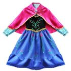 Frozen Anna and Elsa Girl`s Cake Tulle Tutu Dress Kid`s/Toddler Dresses Clothes