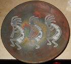 Jeremy Diller Decorative Raku Art Pottery Plate