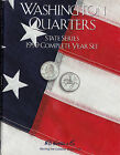 HARRIS 8HRS2582 1999 COMPLETE YEAR SET STATE SERIES QUARTERS ALBUM FOLDER 1/7