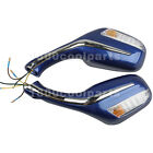 8mm Electric Rearview Mirrors for GY6 50cc 150cc 250cc Scooter Moped  Pair
