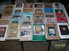 Lot of 30 Assorted Quilting  Blocks / Wallhangers / Pillows Patterns All New