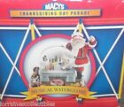 2003 Macys Thanksgiving Day Parade SNOW GLOBE MUSICAL NEW IN THE BOX!
