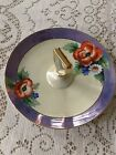 Noritake Hand Painted Handled Serving Dish/Bon Bon Tray Gold Trim Japan    #1026