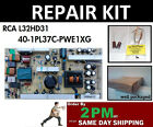 Repair Kit, RCA L32HD31, power supply # 40-1PL37C-PWG1XG