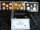 2011 UNITED STATES MINT SILVER PROOF SET W/COA & BOX 14 COINS