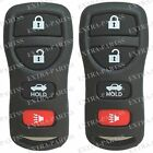 2 New Replacement 4B Keyless Entry Remote Key Fob Transmitter + Free Programming