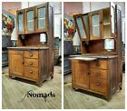 Antique Oak Hoosier with Flour Sifter - Cabinet Storage Kitchen!!