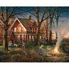 White Mountain Autumn Evening By Terry Redlin 1000 Pc Jigsaw Puzzle