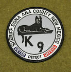 29687) Patch K-9 Dona Ana County New Mexico Sheriff Canine Department Police Law