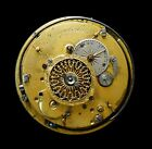 Verge Fusee Repeater Frs Esquivillon Movement circa 1757