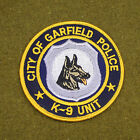29701) Patch K-9 Unit City of Garfield Canine Police Department Sheriff Law
