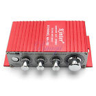 2 Channel HiFi Audio Stereo Amplifier For Car Motorcycle Boat  USB Port Charging