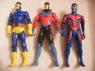 MARVEL DC comics super heros figurine TOY BIZ 1991 92 LOT 3 X MEN Gambit Cyclop