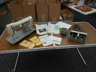 L354- Vintage Necchi Supernova Sewing Machine w/ Many Accessories