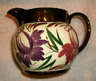 HARVEST WARE WADE COPPER LUSTER CREAMER PITCHER VINTAGE MADE IN ENGLAND NUMBERED
