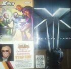 STAN LEE hand signed X MEN THE LAST STAND COA comic DVD collectors ed FIRMADO
