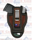 Tuck able IWB Leather Concealed Carry Holster Fits Glock Sig XD Taurus S