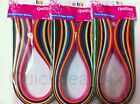 Quilling Paper Multi Color 3 mm 100 Strip 6 Packs 3mm PaperQuilling Supplies