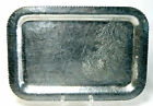 Forged Hammered Aluminum Tray Trade Continental Mark Hand Wrought SilverLook 635