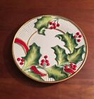 Fitz And Floyd Noel Classique Ceramic Canape Plate/Wall Display 2004