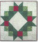 Wreath for All Seasons quilt pattern by The Quilted Basket