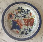 Antique Gaudy Dutch Pottery 7 1/2