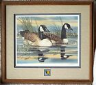 California~Duck Stamp Print & Pin~Framed ~1988~Joe Garcia~Signed & #1117/2000