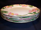 Franciscan Desert Rose Dinner Plates 4 Brown Oval Stamp NO UNTENSILE MARKS