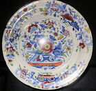 c1820 Dresden Opaque China, English Staffordshire Transfer HP Color Plate