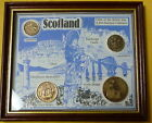 Coins of Scotland a Pre Decimal Collection Sixpence Threepence 1/2 Penny 1 Penny