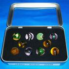 Jabo -  Aces - Marble Set - 2008 - Clear Window Tin - Awesome  111913-2  RK  TN