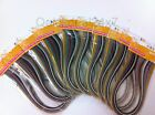 Quilling Papers Metallic Shimmer Multicolor Strips 3mm 10 Packs Quilling Paper