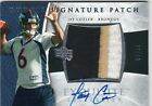 2006 EXQUISITE JAY CUTLER AUTO PATCH RC # 20 RARE SP