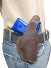 New Barsony Brown Leather OWB Belt Holster for HK Compact Sub Compact 9mm 40 45