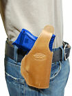 New Barsony Tan Leather OWB Belt Holster for HK Compact Sub Compact 9mm 40 45