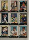1998 Bowman Baseball Set Signed Autograph Wade Boggs Jose Canseco Sean Casey